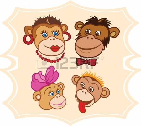 8,197 Chimpanzee Cliparts, Stock Vector And Royalty Free.