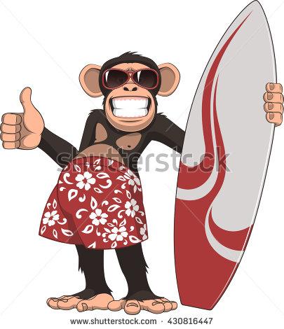 Chimpanzee Funny Stock Photos, Royalty.