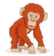 Chimpanzee clipart 1 » Clipart Portal.