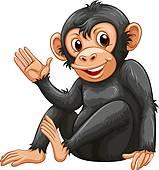 Chimpanzee Clip Art Royalty Free. 3,124 chimpanzee clipart vector.