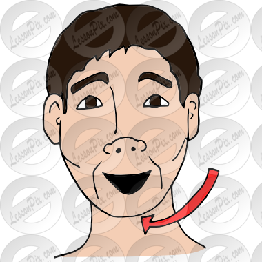 Chin clipart jaw Circle Png, Vector, PSD, and Clipart With.
