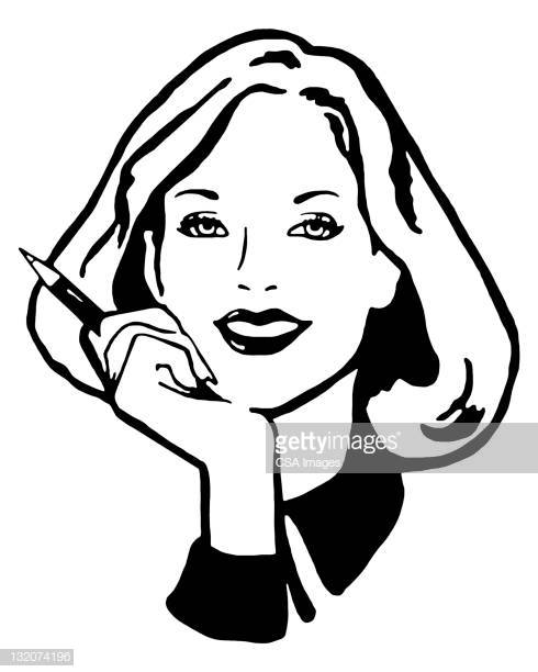 60 Top Hand On Chin Stock Illustrations, Clip art, Cartoons, & Icons.