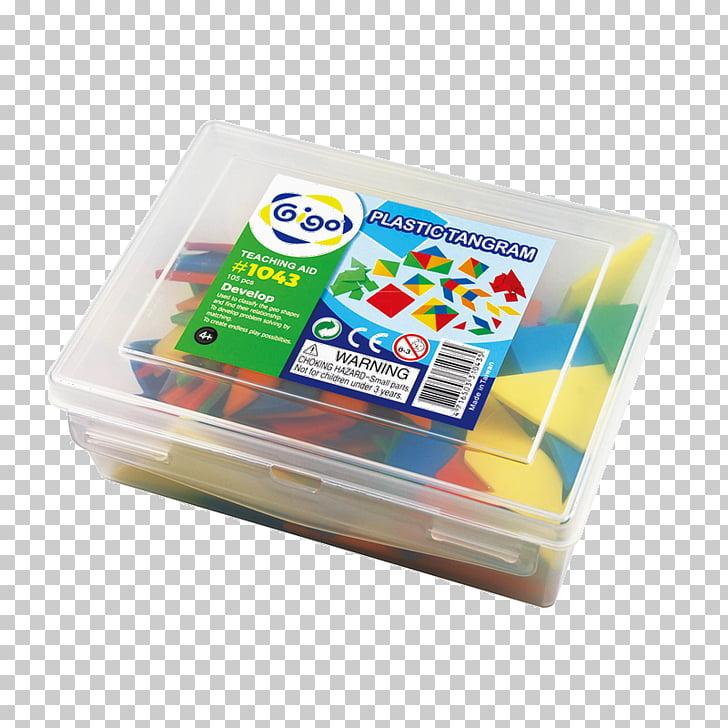 Tangram Puzzle Mathematics Plastic container, china creative.