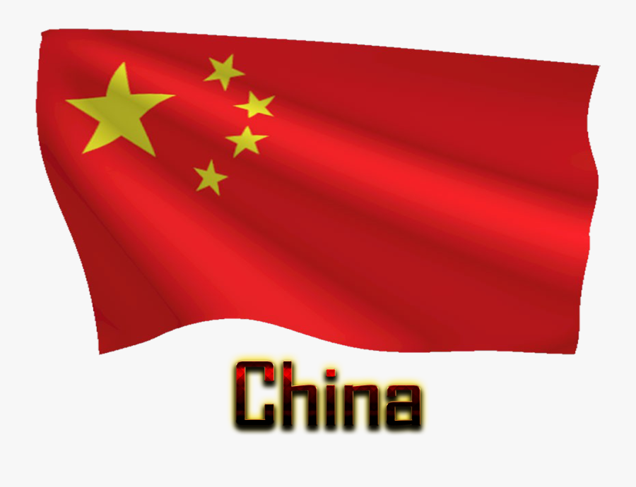 China Flag Png Free Background.