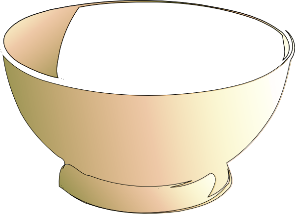Bowl Of Milk Clipart.