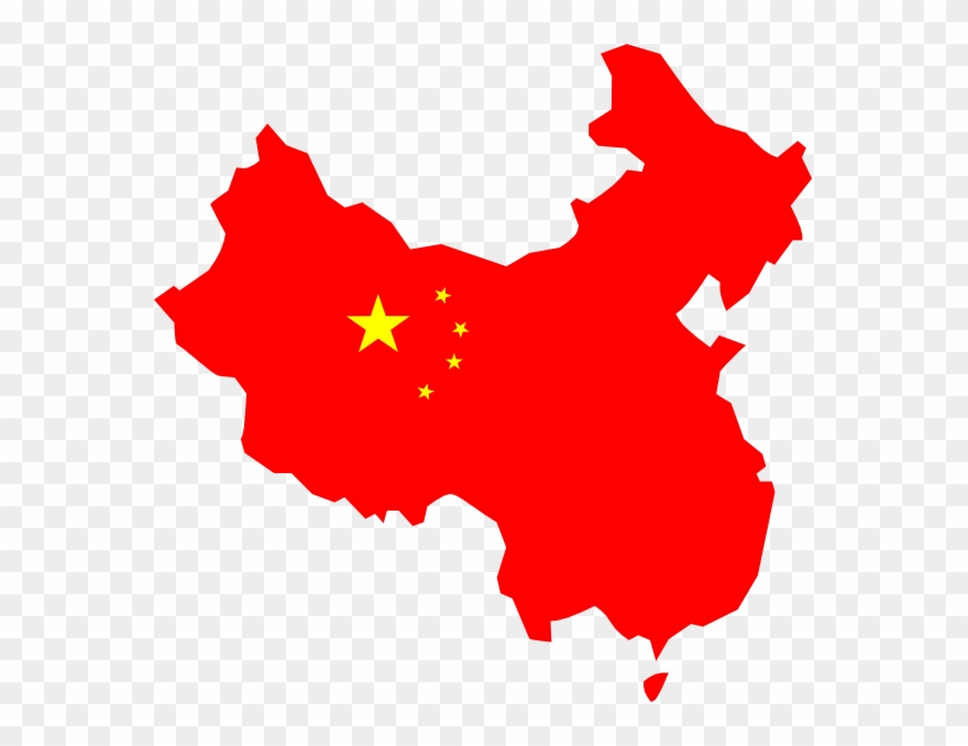 Graphic Library Stock China Flag Clipart.