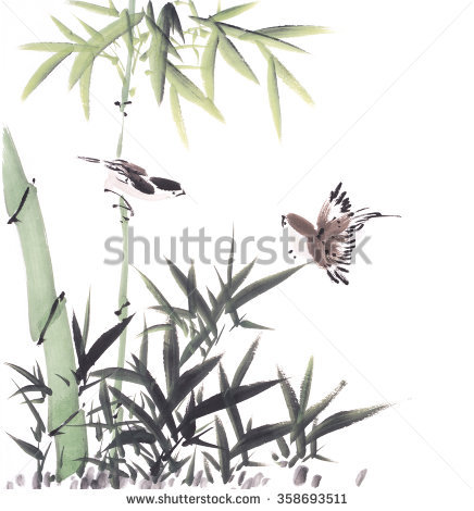 Chinese Painting Stock Photos, Royalty.