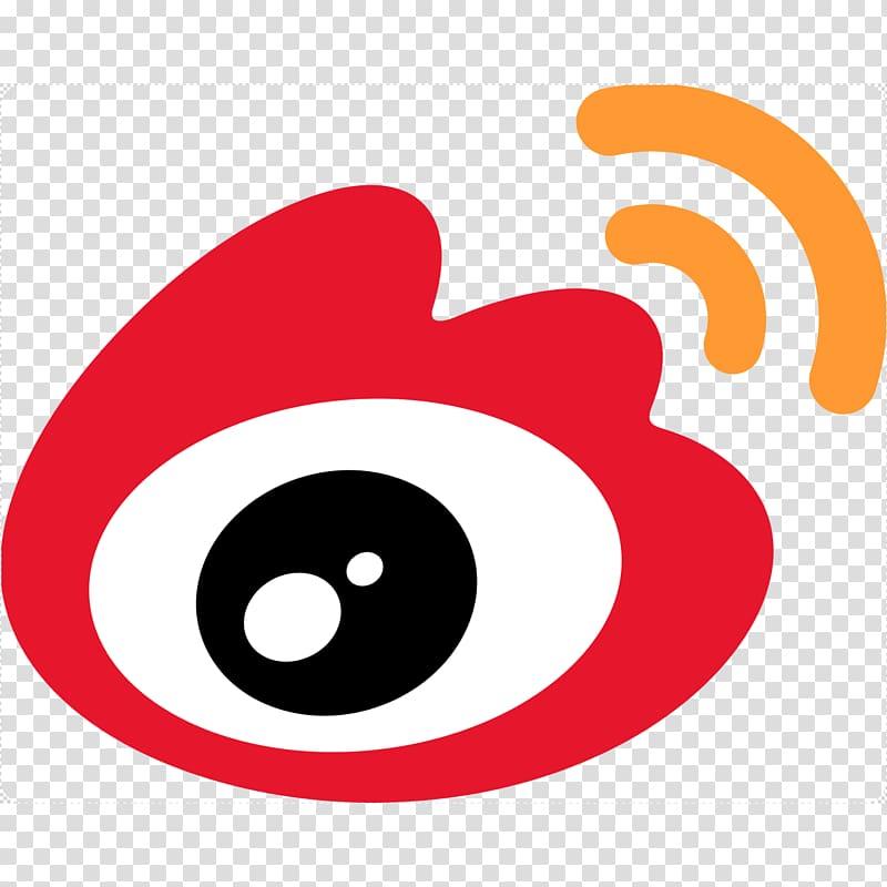 China Sina Weibo Social media Logo, China transparent.