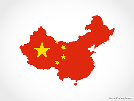 Vector Maps of China.