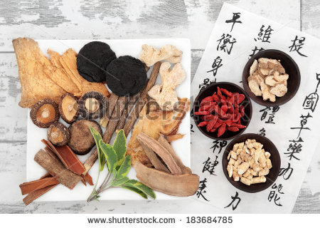 Traditional Chinese Medicine Stock Photos, Royalty.