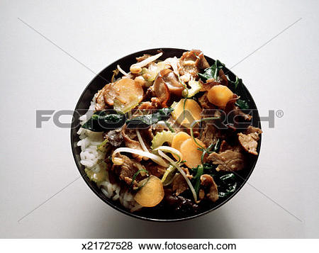 Pictures of Asian Beef Dish with Morels x21727528.
