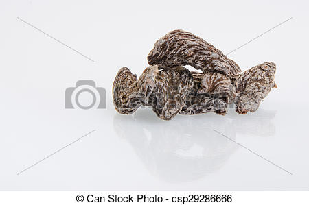 Stock Image of Dried salted peach (Chinese plum, Japanese apricot.
