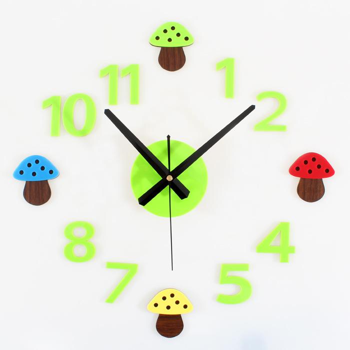 Popular Mushroom Clock.