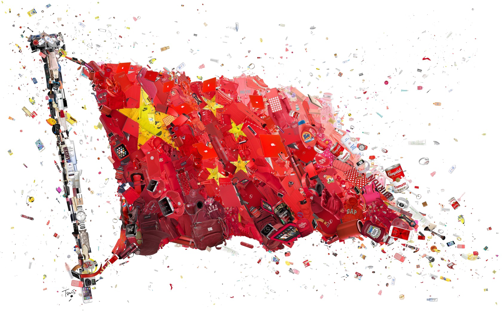 China Flag PNG Transparent Images, Pictures, Photos.
