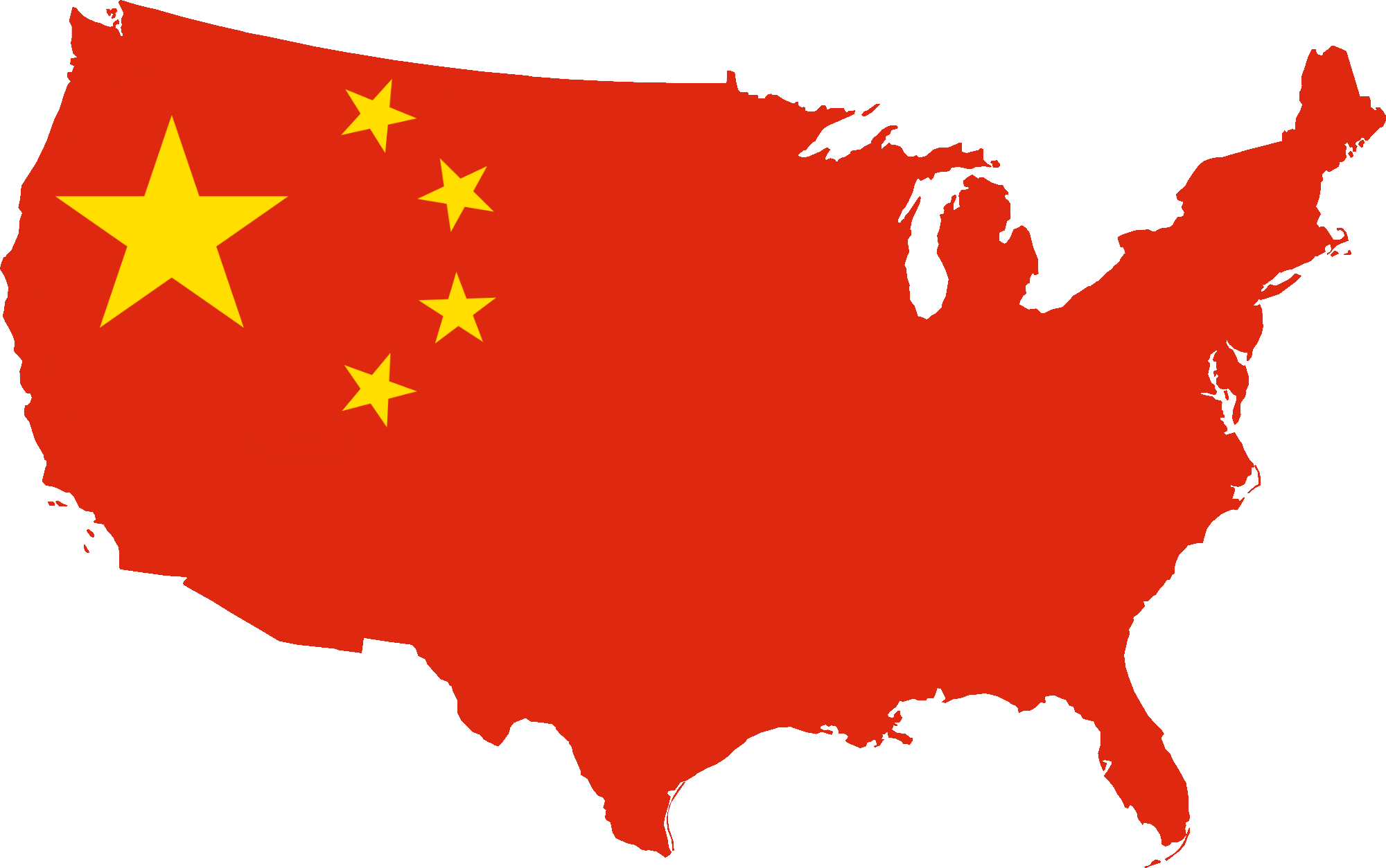 File:Flag Map of USA China.png.