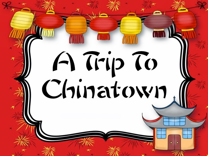 Primary Chalkboard: A Trip To Chinatown.