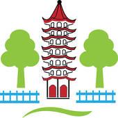 China Town Clip Art.
