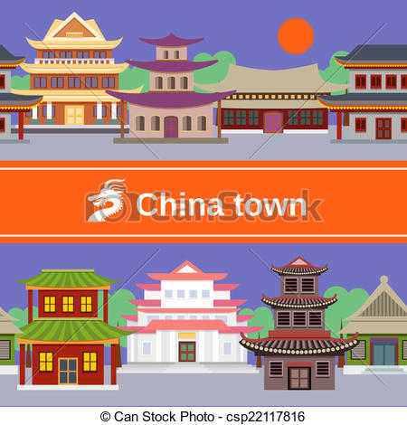 China town Illustrations and Clipart. 792 China town royalty free.
