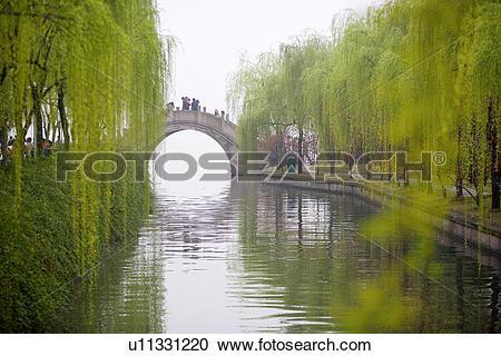 Stock Photography of China, Zhejiang Province, Hangzhou, West Lake.