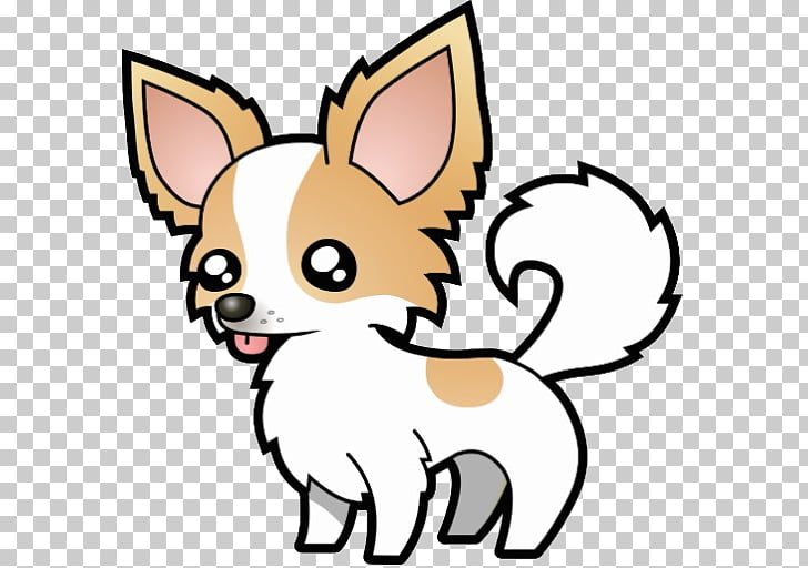 Chihuahua Puppy Cartoon Drawing , chihuahua PNG clipart.