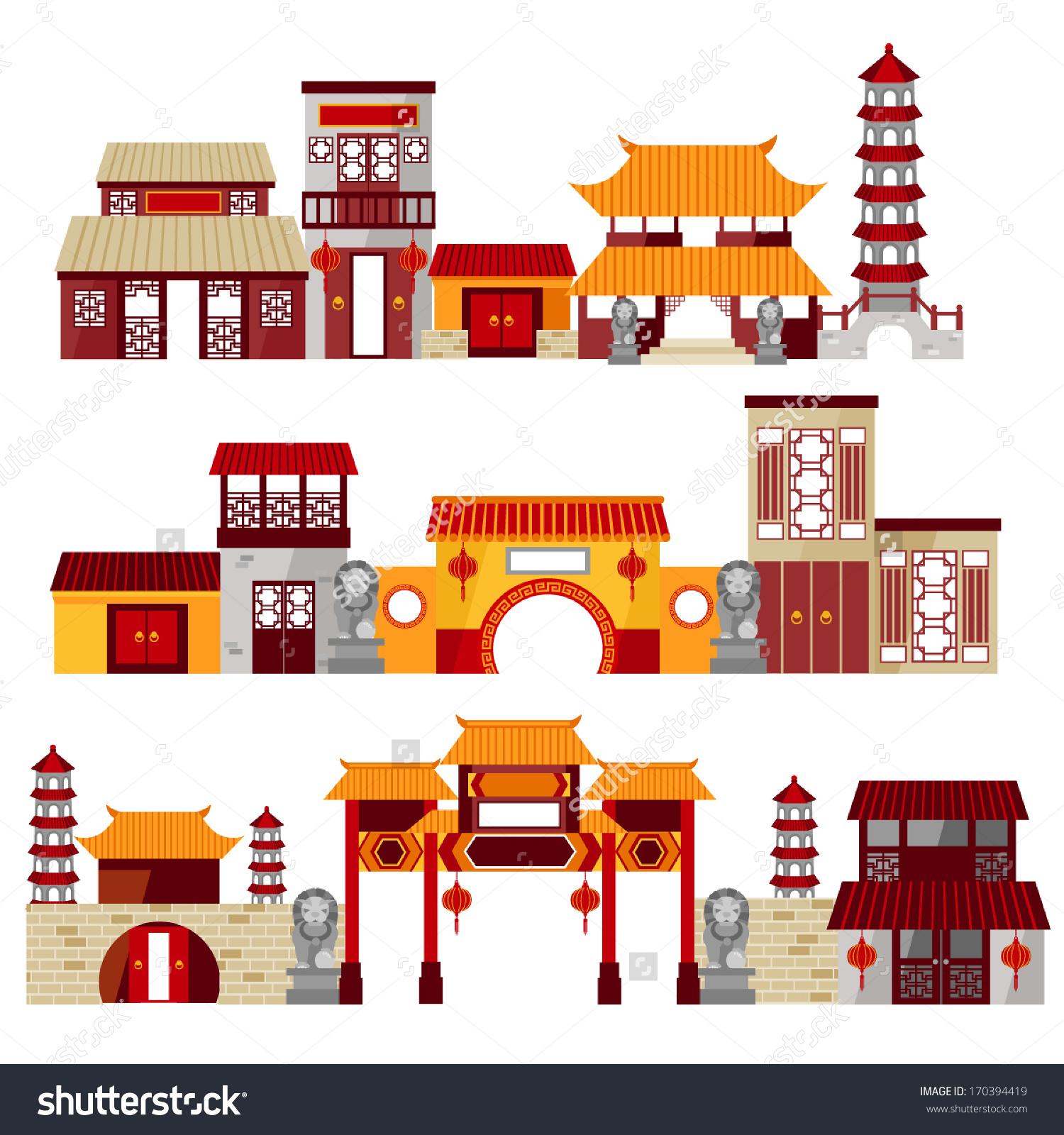 Chinatown clipart.