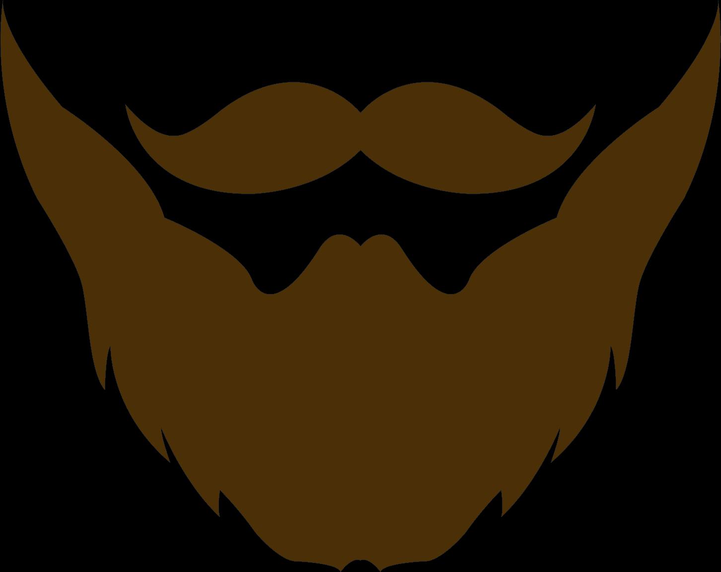 Moustache clipart goatee beard, Moustache goatee beard.