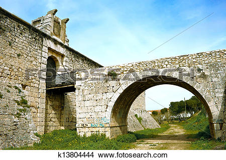 Stock Photo of Castle of Chinchon k13804444.