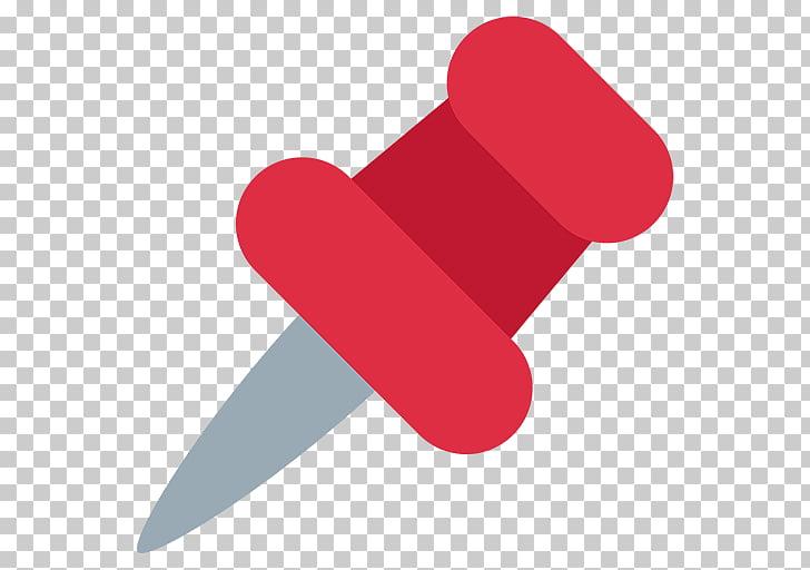 Emoji dibujo pin teléfonos móviles accesibilidad web, chincheta PNG.