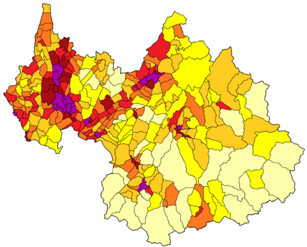 Démographie de la Savoie.