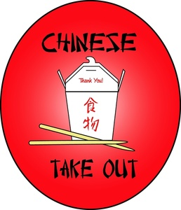 Chinese Food Clipart Image.