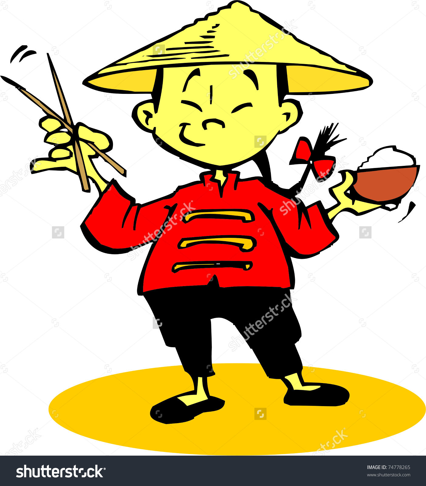 Free Clipart Old Chinese Man.
