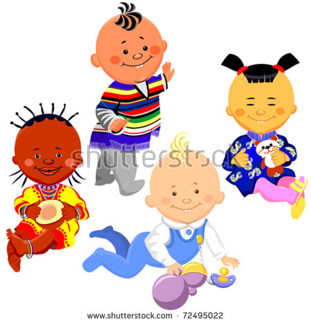 Chinese Baby Girl Stock Vectors, Images & Vector Art.