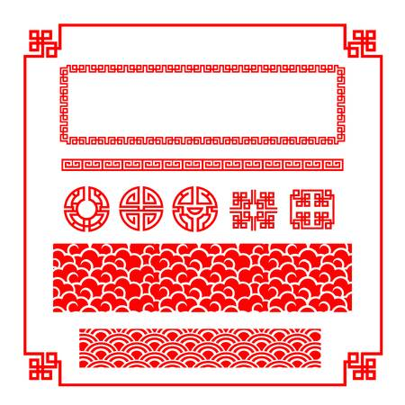 16,117 Chinese Border Stock Vector Illustration And Royalty Free.