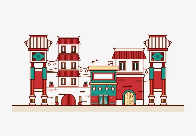Chinese buildings clipart 8 » Clipart Portal.