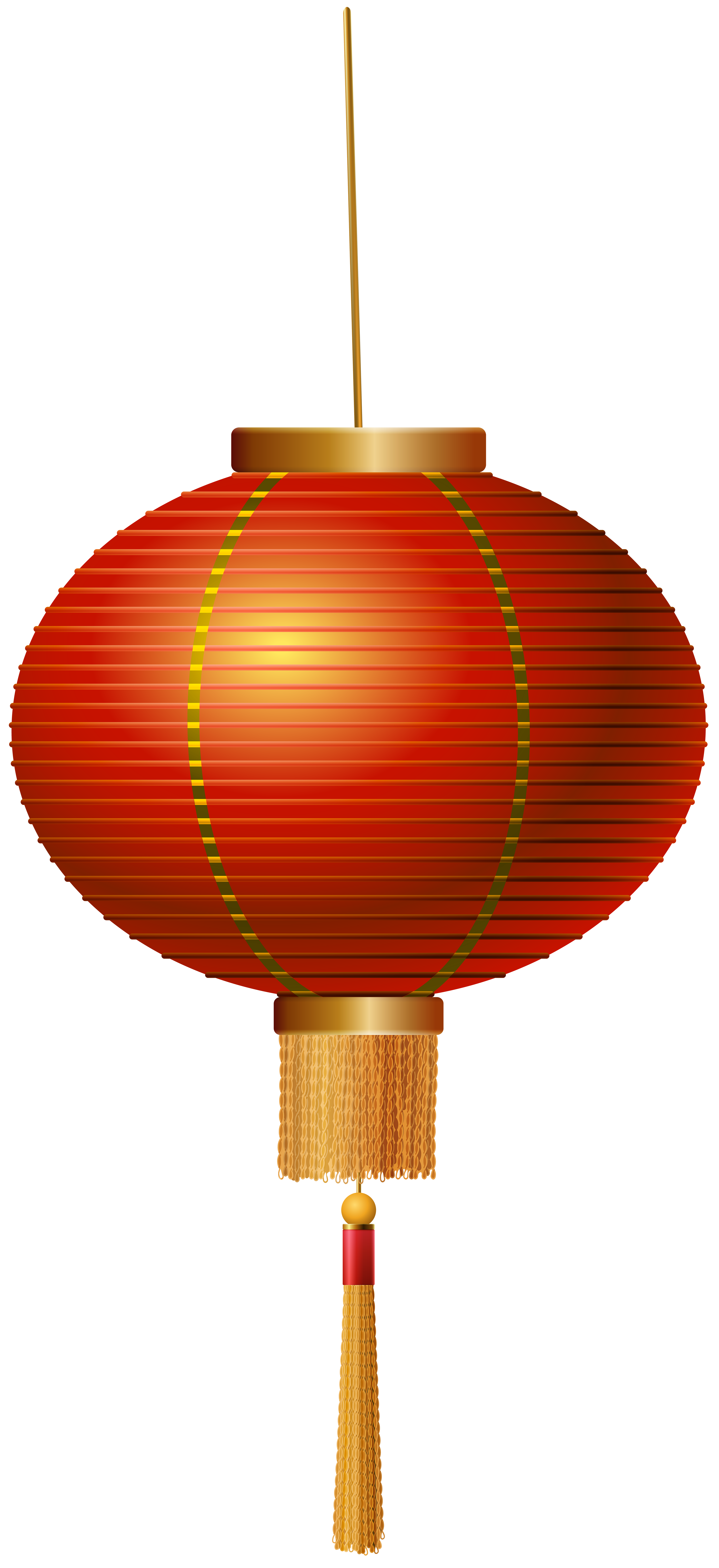Red Chinese Lantern PNG Clip Art.
