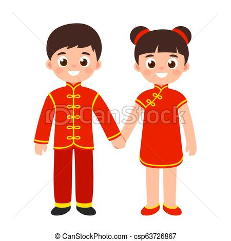 Traditional Chinese costumes.