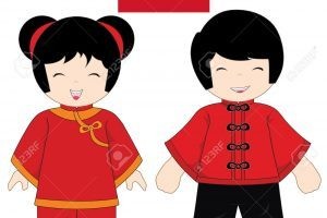 China traditional costume » Clipart Portal.