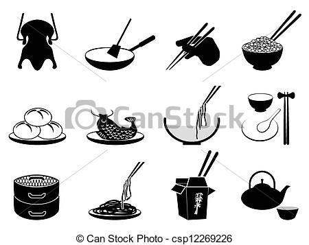Chinese food Vector Clipart Royalty Free. 7,268 Chinese food clip.