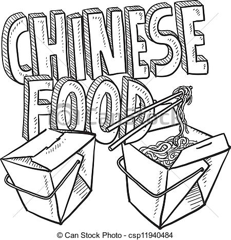 Chinese food clipart noodles.
