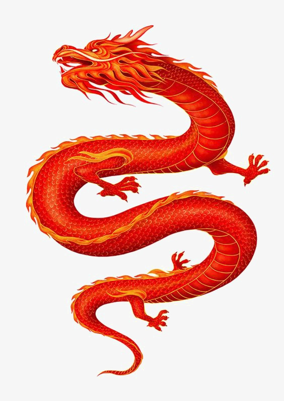 Chinese Dragon, Chinese Clipart, Dragon Clipart, Changlong PNG.