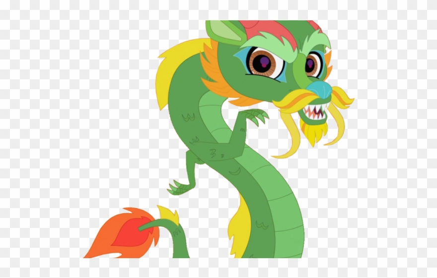 Chinese Dragon Clipart Cartoon.