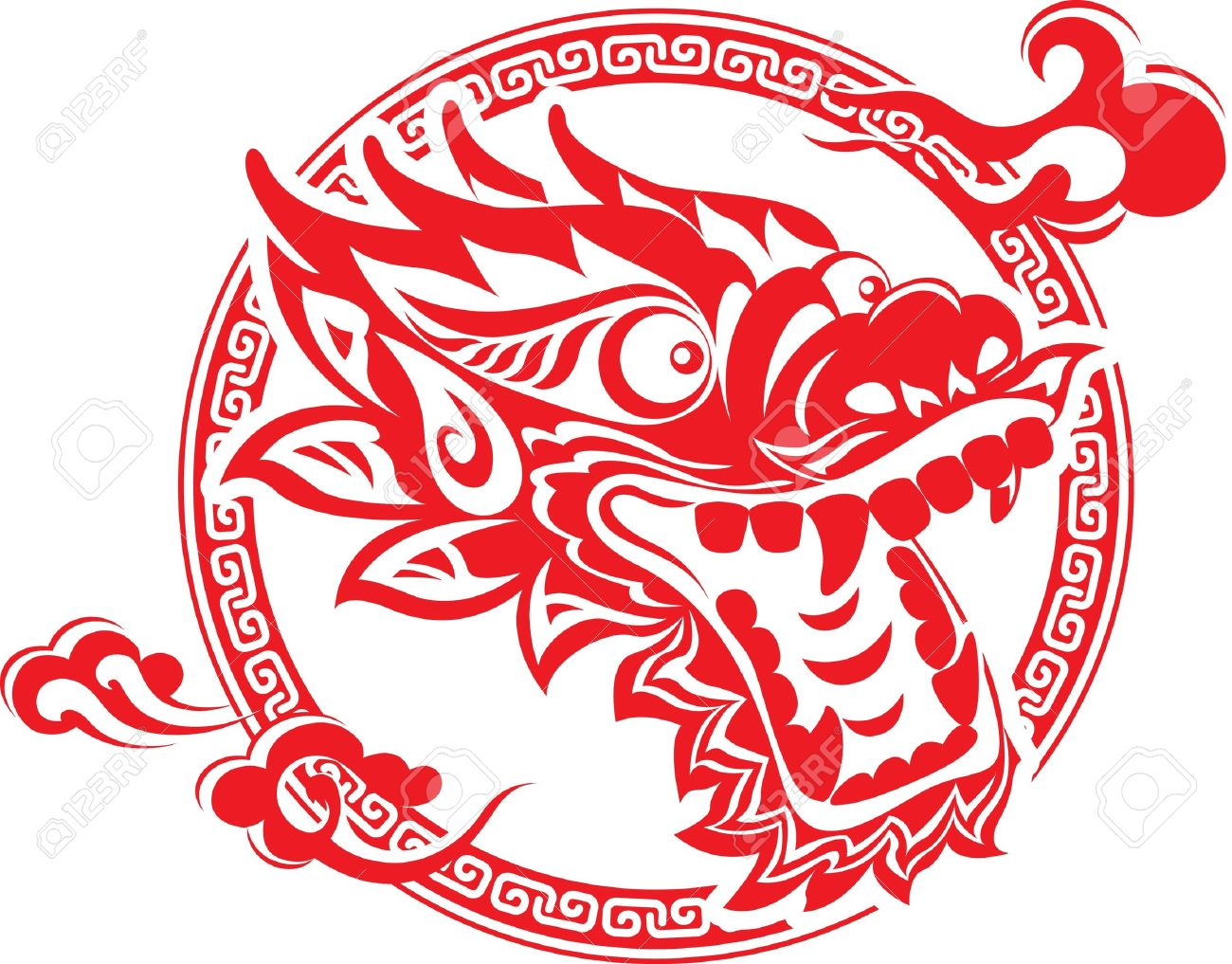 93+ Chinese Dragon Clipart.