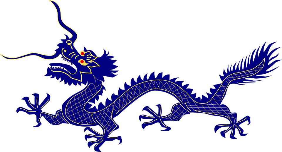 Free vector graphic: Dragon, Purple, Chinese, Animal.