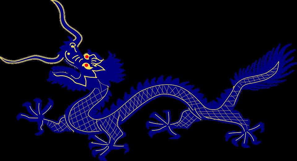 Free vector graphic: Dragon, Purple, Chinese, Animal.