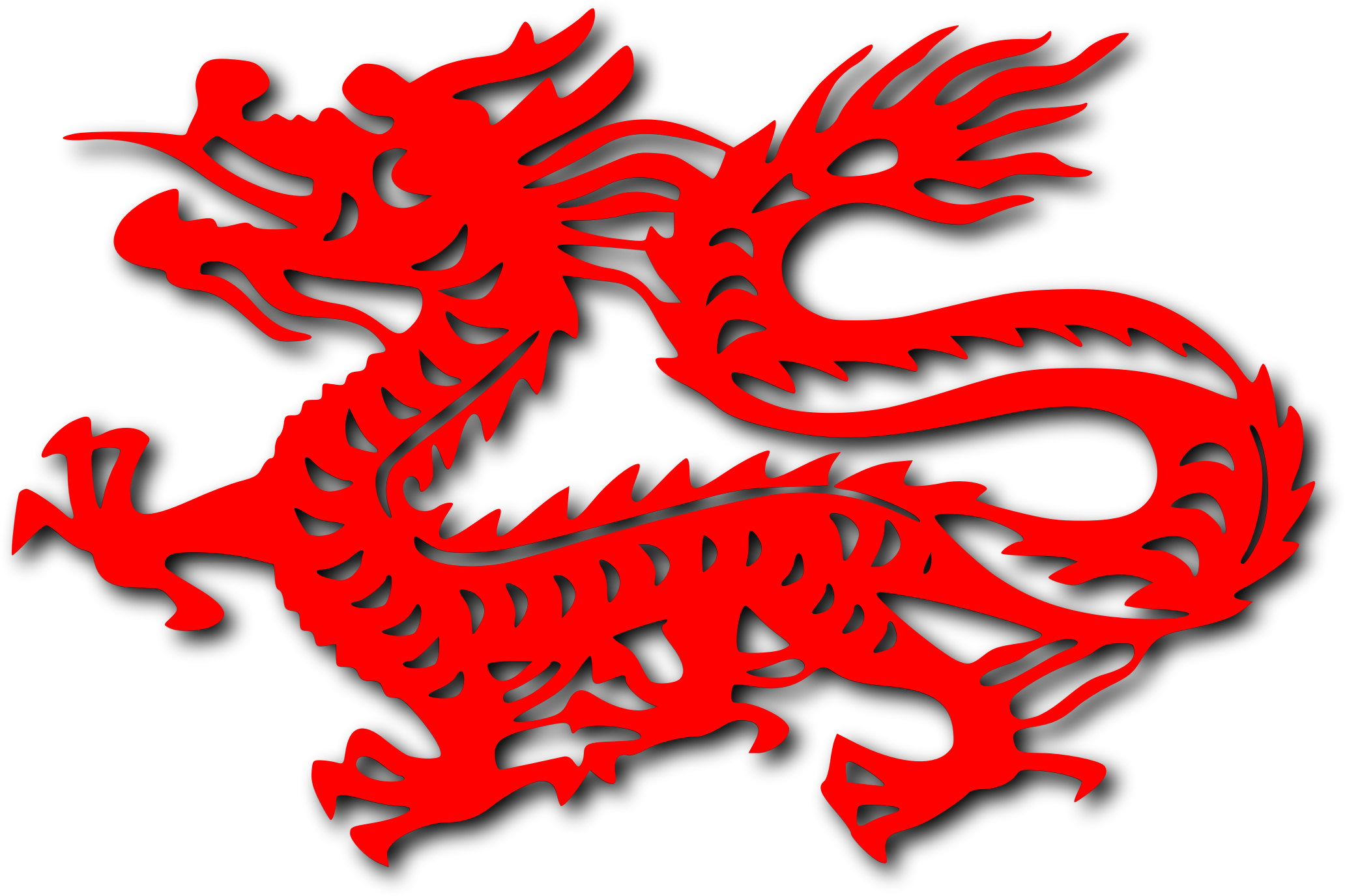 Chinese dragon clipart free.