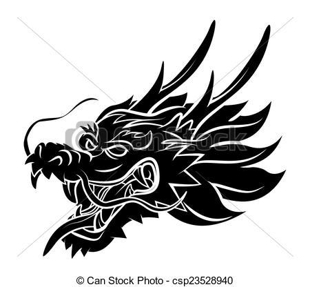 Chinese dragon head clipart 1 » Clipart Portal.