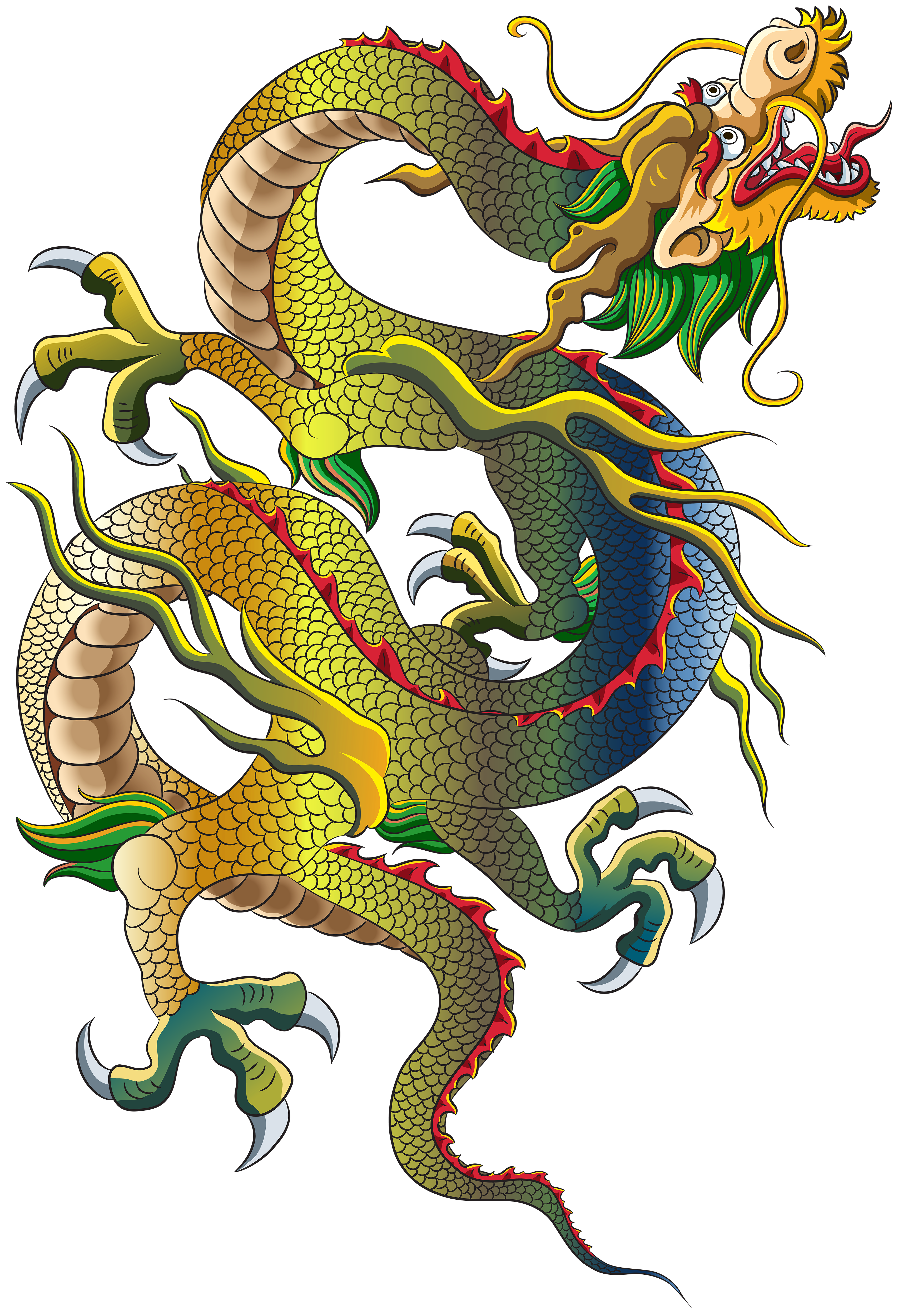 Chinese Dragon PNG Clip Art.