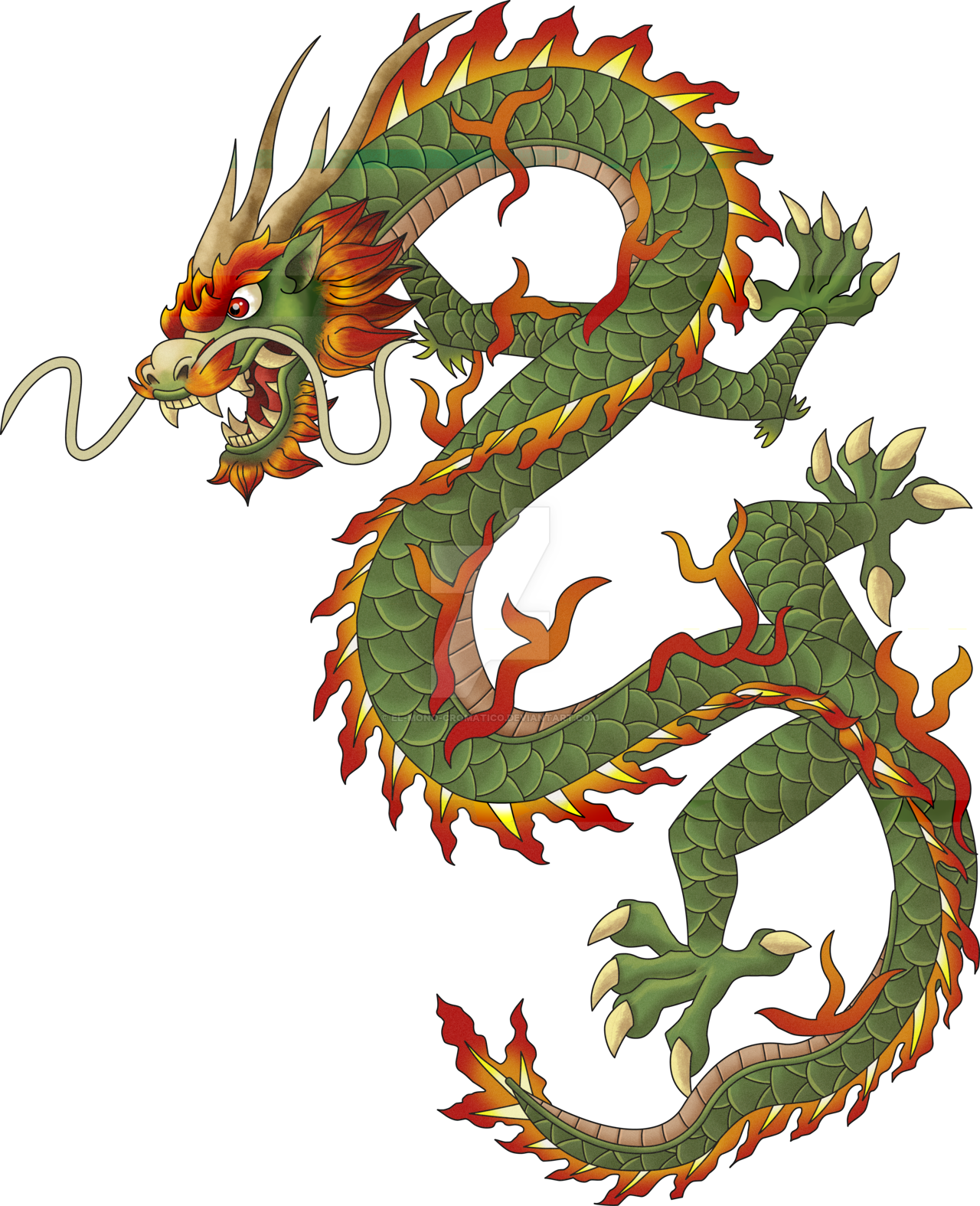 Download Chinese Dragon Png Clipart HQ PNG Image.