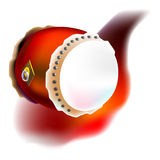 Chinese Drum Stock Illustrations.