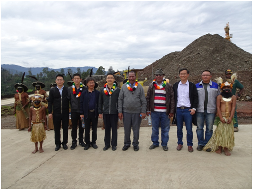 Economic & Commercial Counsellor from Chinese Embassy in PNG Visited.